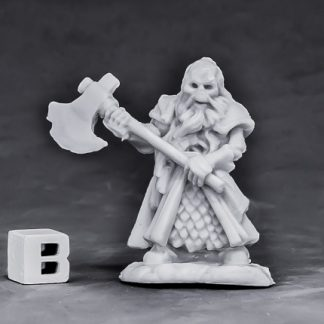 Undead Dwarf Fighter Reaper miniatures