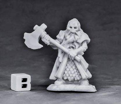 Undead Dwarf Fighter Reaper miniatures