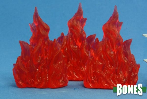 Reaper Miniatures Wall of Fire (3)