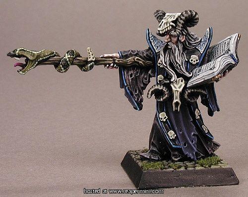 Reaper Miniatures 77174_Leisynn, Mercenary Mage_painted