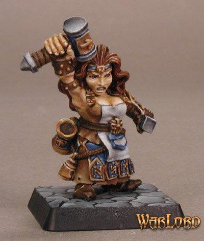 Reaper Miniaturen Margara, Female Dwarf Cleric 77413