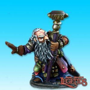Reaper Miniatures Barden Barrelstrap Dwarf Cleric 77383