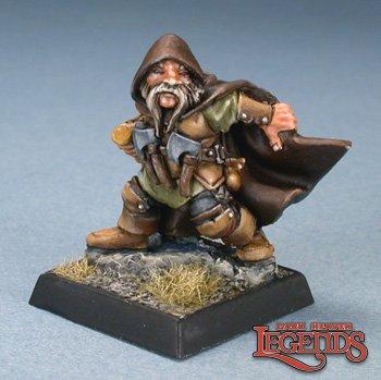 Reaper Miniaturen Klaus Copperthumb Dwarf Thief 77479