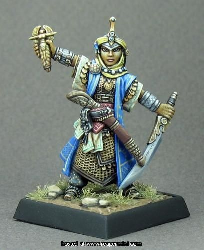 Reaper Miniaturen Kyra Iconic Cleric 89015