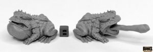 Reaper Miniatures Nederland 44024_Giant Frogs (2)