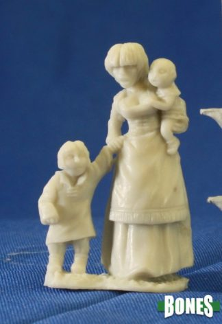 Reaper Miniatures Nederland 77087_Townsfolk Mom and Kids