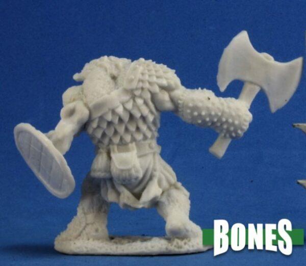 Reaper Miniatures Nederland 77233_Kegg, Bugbear Hunter (axe)_