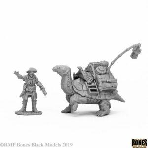 Reaper Miniatures Nederland Tortoise & Drayman