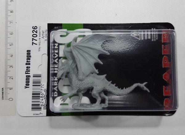 Reaper Minatures Young Fire Dragon 77026