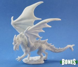Reaper Miniatures Nederland Young Fire Dragon