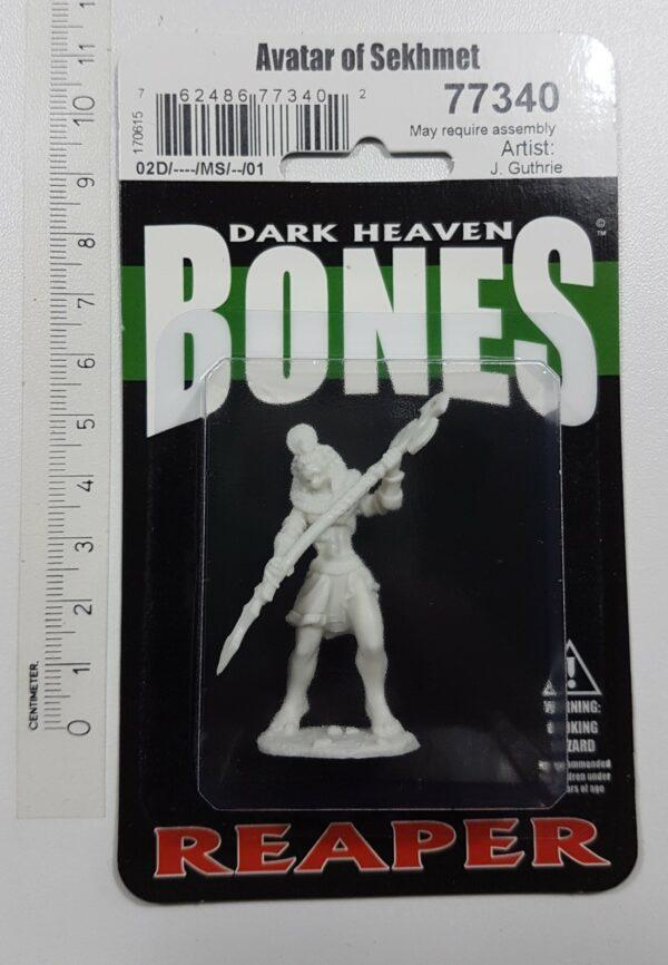 Reaper Miniatures Avatar of Sekhmet 77340