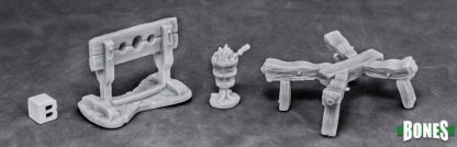 Reaper Miniatures Nederland Torture Equipment 1