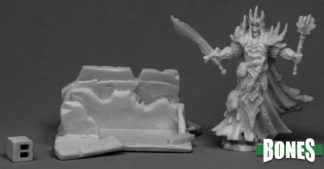 Reaper Miniatures Nederland Dust King and Crypt
