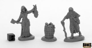Dreadmere Townsfolk Fishwife and Crone Reaper Miniatures Nederland