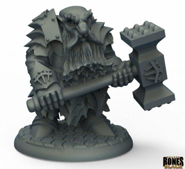 Reaper Miniatures Nederland Dark Dwarf Pounder