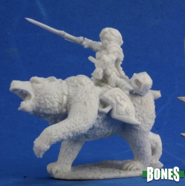 Reaper Miniatures Nederland Ursula, Dwarven Bear Rider
