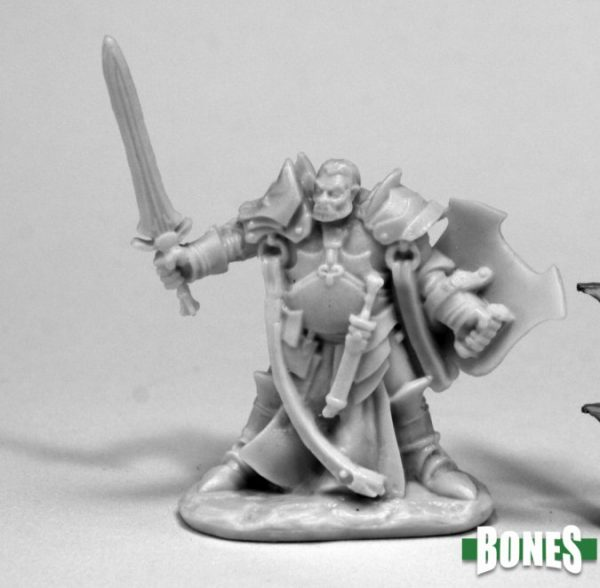 Reaper Miniatures Nederland 77438_Jurden, Half Orc Paladin