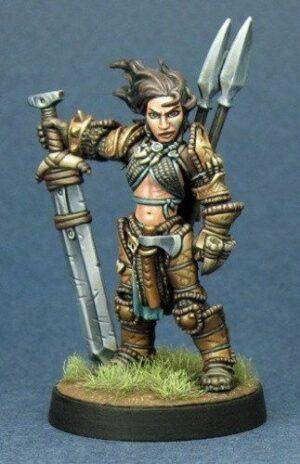 Reaper Miniatures Amiri Iconic Barbarian 89005