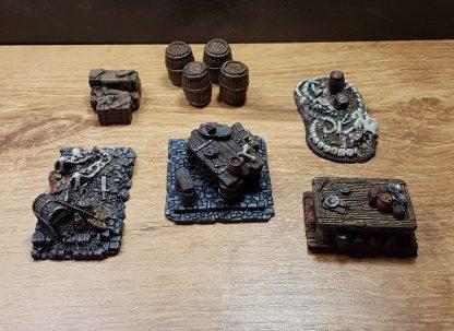 Scenery Set I Treasure and Inn 6 delig