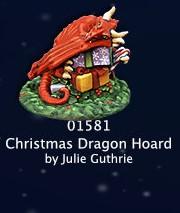Christmas Dragon Hoard 01581