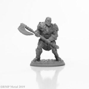 Reaper mini Arik Axereaver Barbarian 04006