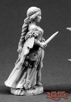 Reaper Miniatures Hannah Blackruby Female Wizard 03329