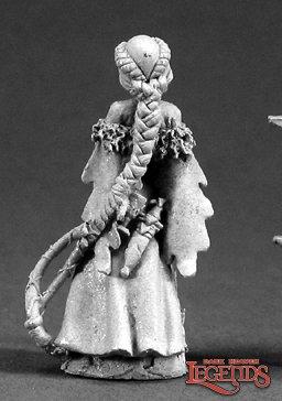 Reaoer Miniatures Hannah Blackruby Female Wizard 03329