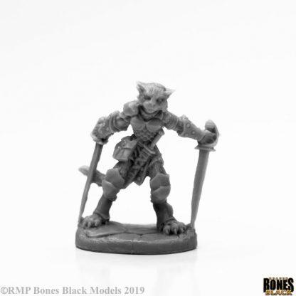 Reaper Miniatures Shadoweyes Catfolk Rogue 44118