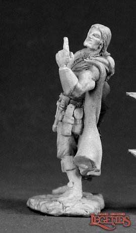Reaper Miniatures Dub Bullock Rogue 03026