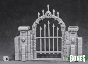 Reaper Miniatures Graveyard Fence Gate 77527