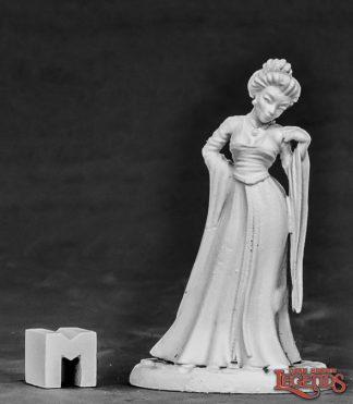 Reaper miniatures Townsfolk Courtesan 03856