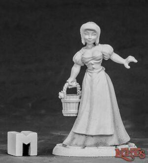Reaper Miniatures Milk Maid Townsfolk 03857
