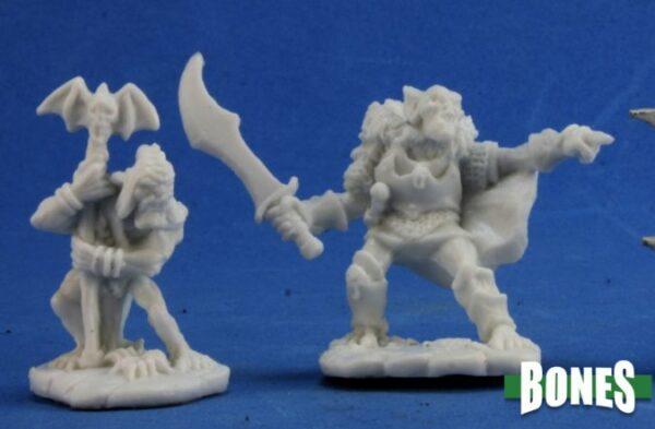 Reaper Miniatures Goblin Command (2) 77349