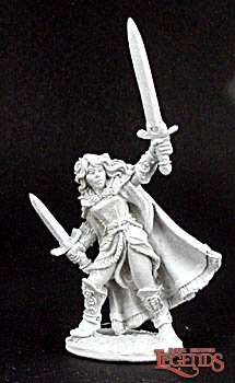 Reaper Miniatures Aisha, Female Warrior 02979