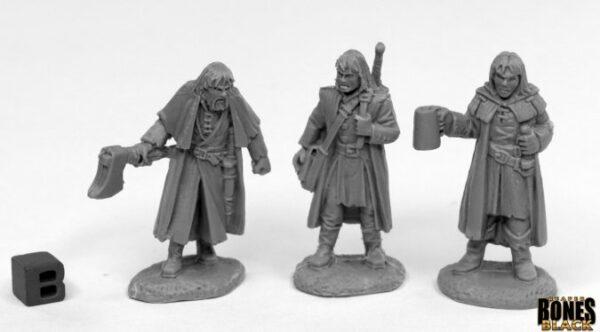 Reaper Miniatures Dreadmere Mercenaries (3)