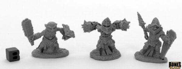 Reaper Miniatures Bloodstone Gnome Warriors (3) 44041