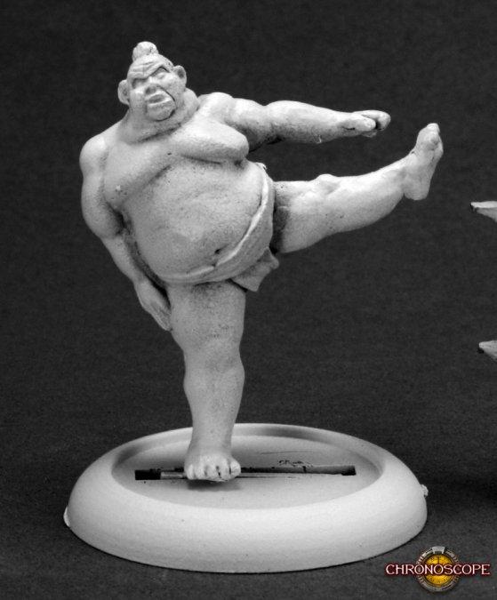 Reaper Miniatures Kawa, Sumo Wrestler 50261