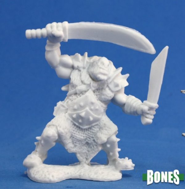 Reaper Miniatures Orc Stalker (Two Weapons) 77051