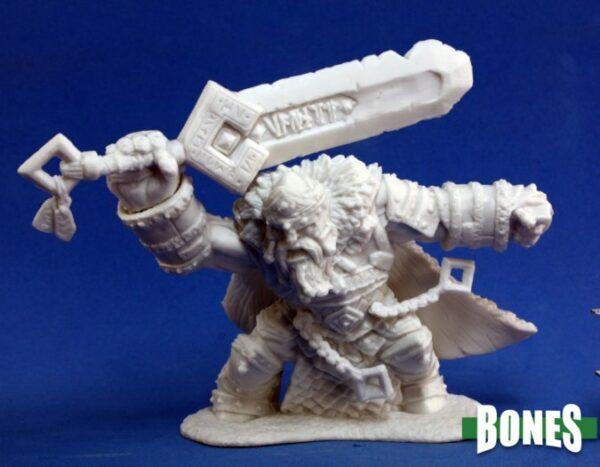 Reaper Miniatures Skorg Ironskull, Fire Giant King 77101