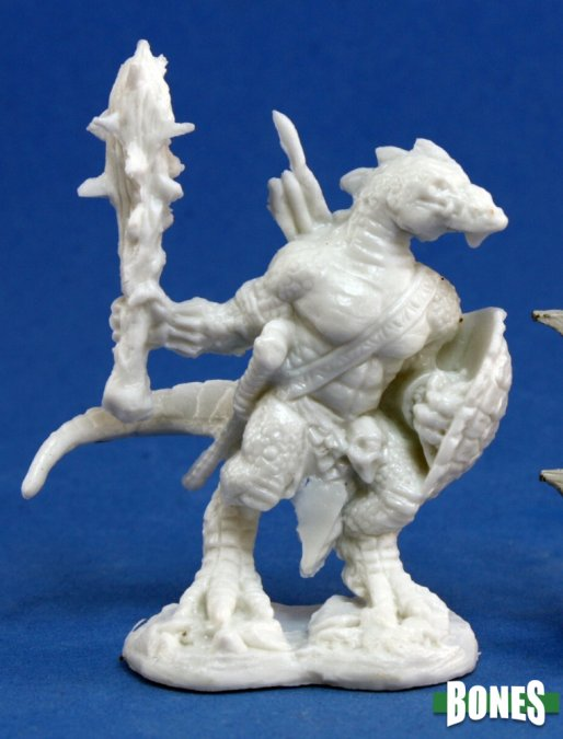 Reaper Miniatures Lizardman Warrior 77155