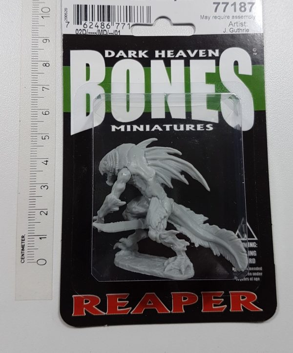 Reaper Miniatures Tiik Champion 77187