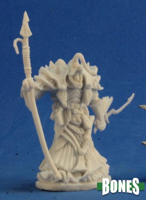 Reaper Miniatures Eregris Darkfathom, Evil High Sea Priest 77215