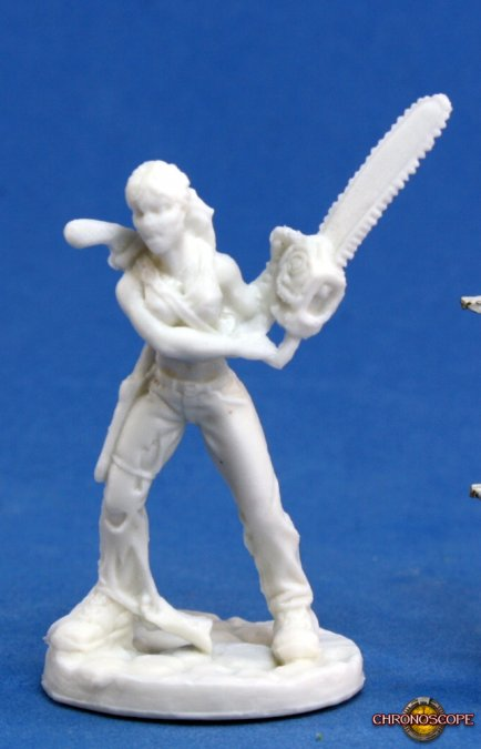 Reaper Miniatures Chronoscope Berkeley, Zombie Hunter 80022