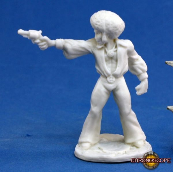 Reaper Miniatures Chronoscope Horace 'Action' Jackson 80023