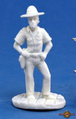 Reaper Miniatures Chronoscope Deputy Wayne Tisdale 80024