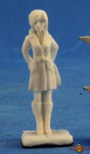 Reaper Miniatures Chronoscope Agatha Fox 80026