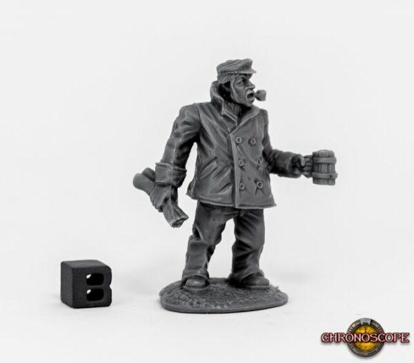 Reaper Miniatures chronoscope Ship Captain 80064