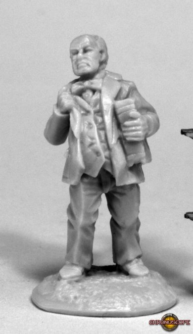 Reaper Miniatures Chronoscope Pulp Era Professor 80073