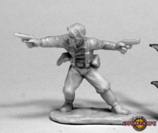 Reaper Miniatures hronoscope Jake Ryan, Hero Explorer 80074