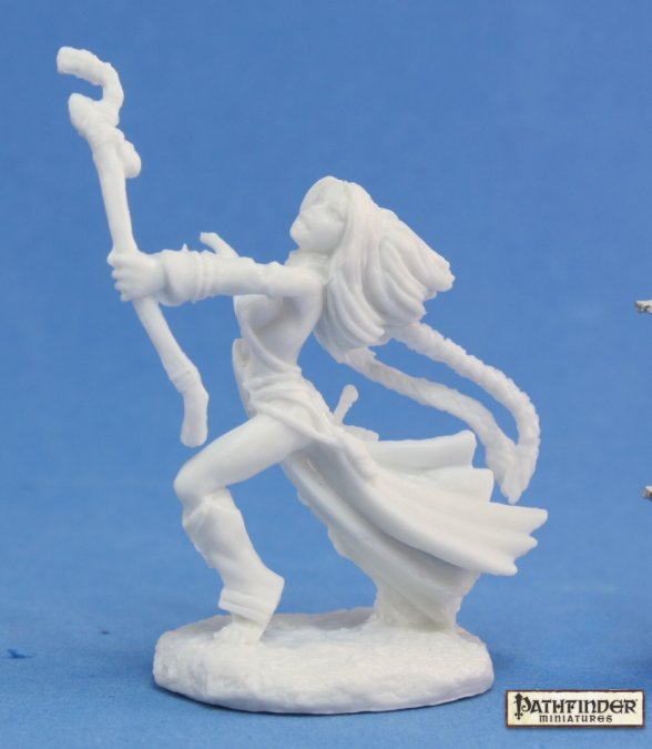 Reaper Miniatures Pathfinder Seoni, Iconic Sorceress 89006